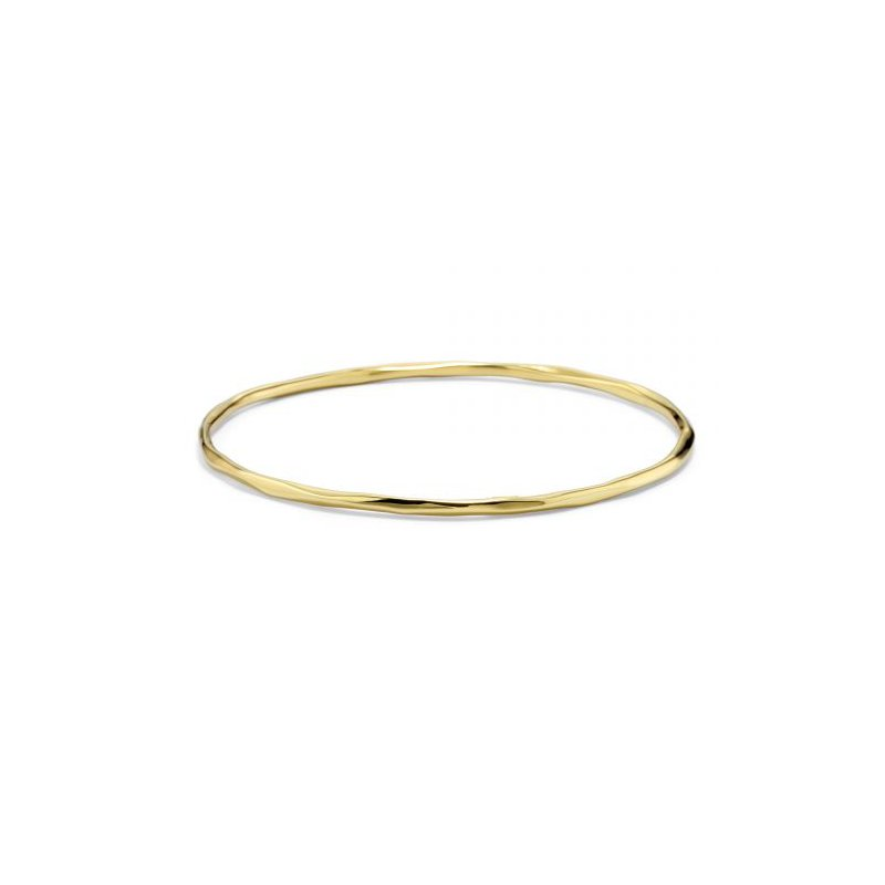 Ippolita Ippolita 18kt Classico thin faceted bangle. Available at our Halifax store