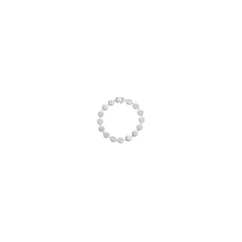 Marco Bicego Marco Bicego 18kt Jaipur Bracelet with 0.23ct diamonds. Available at our Halifax store