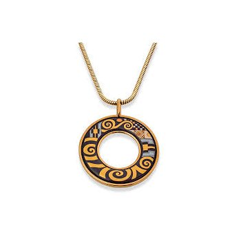 FreyWille Gustav Klimt Adele Bloch-Bauer Helena pendant. Available at our Halifax store.