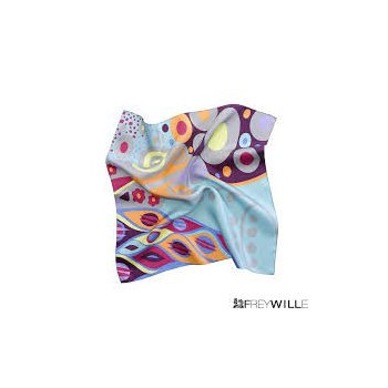 "FreyWille Gustav Klimt silk scarf 90x90"". Available at our Halifax store."