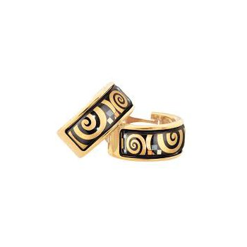 FreyWille hommage ohrschmuck creole earrings Gustav Klimt. Available at our Halifax store.