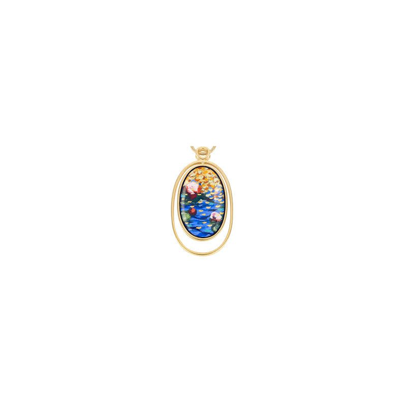 Freywille FreyWille Claude Monet waterdrop pendant. Available at our Halifax store.