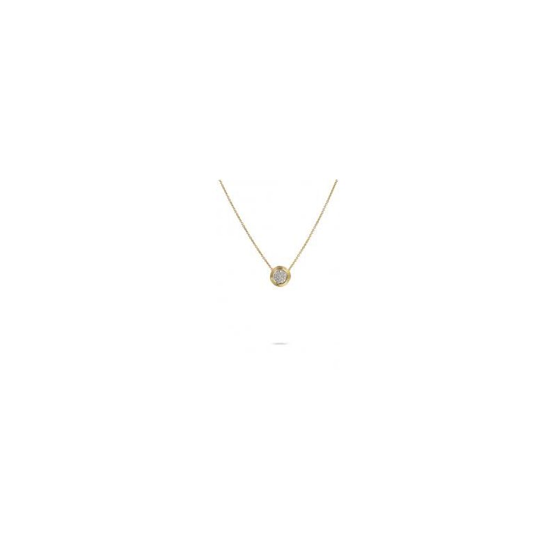 Marco Bicego Marco Bicego 18kt Delicati necklace 0.15ct Diamonds. Available at our Halifax store