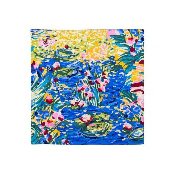 FreyWille gavroche, Claude Monet giverny / orangerie silk scarf. Available at our Halifax store.