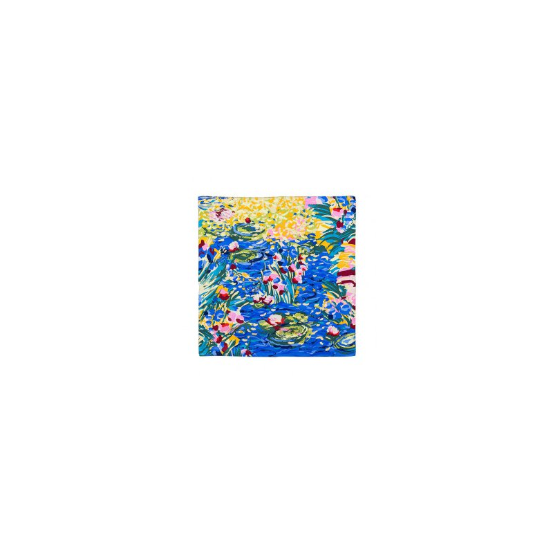 Freywille FreyWille gavroche, Claude Monet giverny / orangerie silk scarf. Available at our Halifax store.