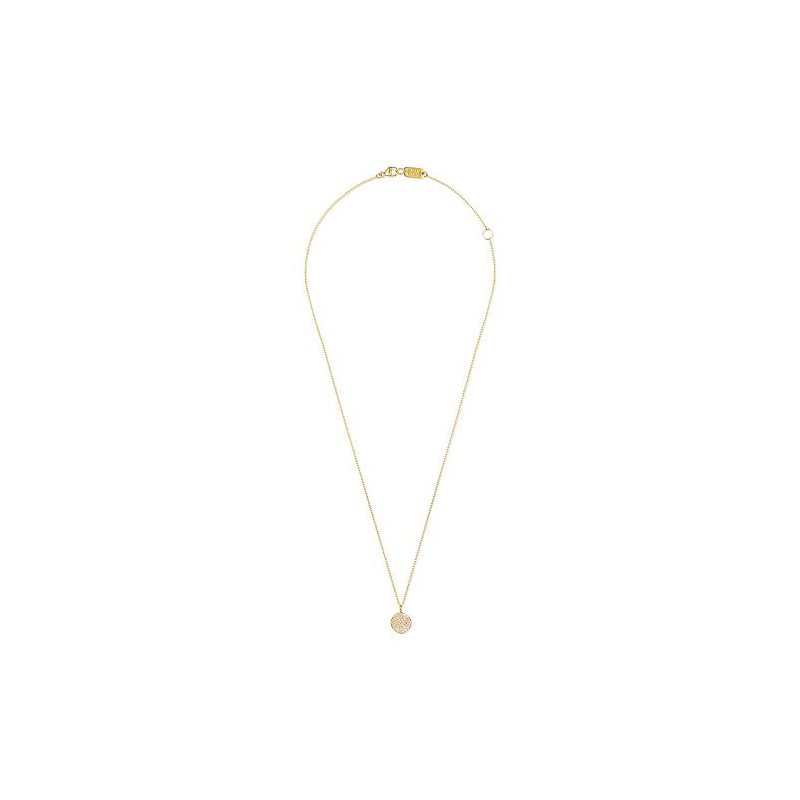 Ippolita Ippolita 18kt Stardust small flower pendant necklace, 0.26ct. Available at our Halifax store.