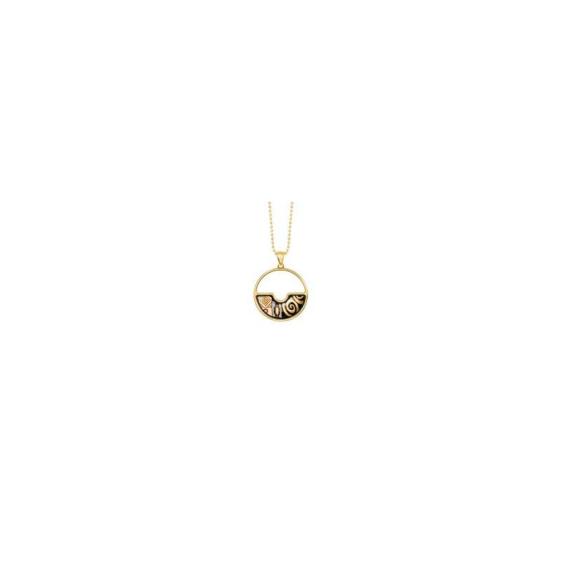 Freywille FreyWille swing Gustav Klimt 2 pendant Adele Bloch-Bauer. Available at our Halifax store.