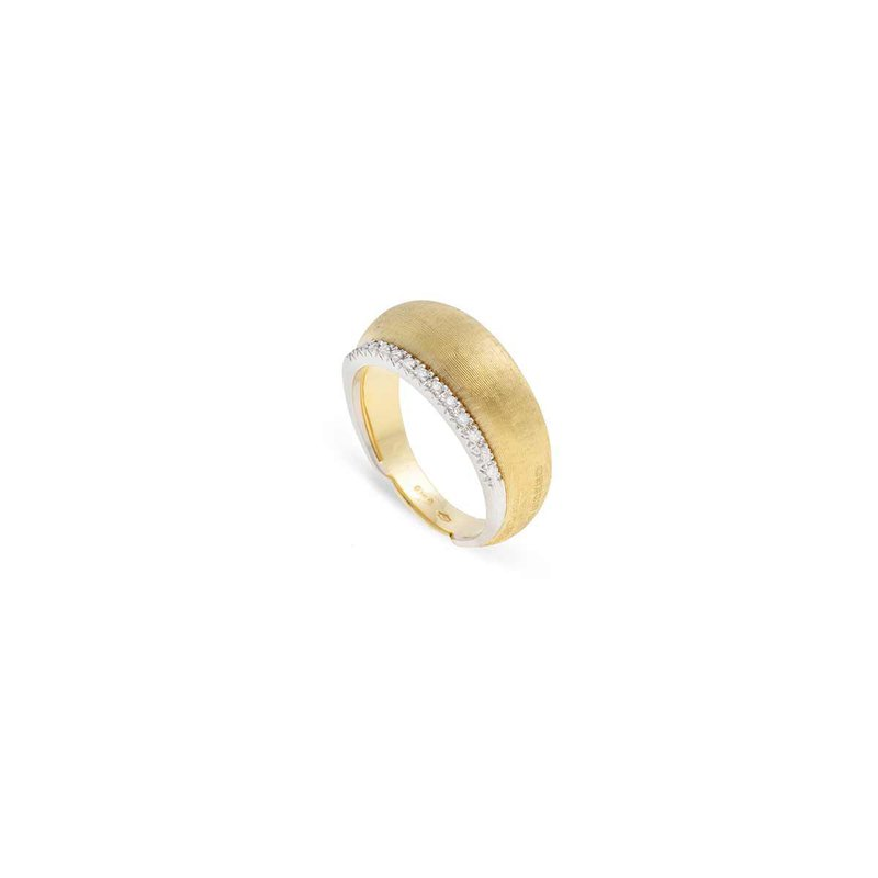 Marco Bicego Marco Bicego 18kt Lucia ring with 0.10ct of Daimonds. Available at our Halifax store.