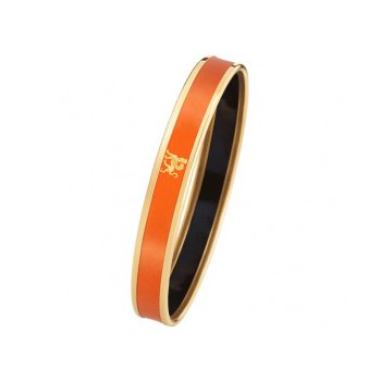 FreyWille mademoiselle monochrome bangle orange, size M. Available at our Halifax store.