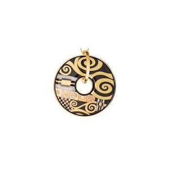 FreyWille luna piena Gustav Klimt 2 pendant Adele Bloch-Bauer. Available at our Halifax store.