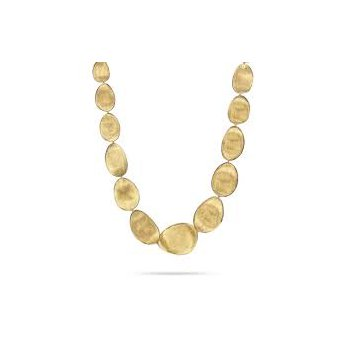 Marco Bicego 18kt Lunaria necklace 1st size. Available at our Halifax store