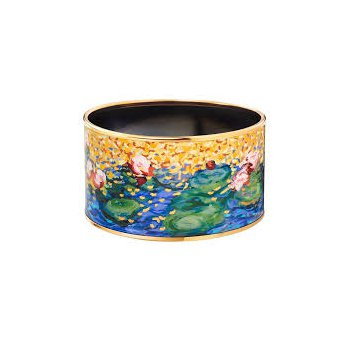FreyWille hommage a Claude Monet orangerie diva bangle, size L. Available at our Halifax store.