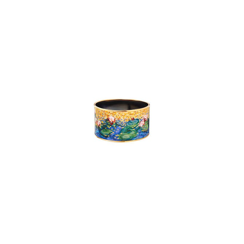 Freywille FreyWille hommage a Claude Monet orangerie diva bangle, size L. Available at our Halifax store.