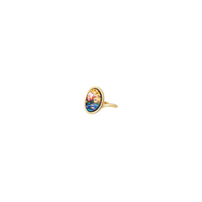 Freywille FreyWille hommage a Claude Monet orangerie waterdrop ring, size 53. Available at our Halifax store.