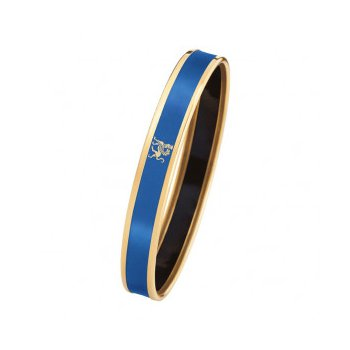 FreyWille mademoiselle monochrome bangle cobalt, size M. Available at our Halifax store.