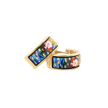 FreyWille hommage a Claude Monet orangerie creole earrings. Available at our Halifax store.