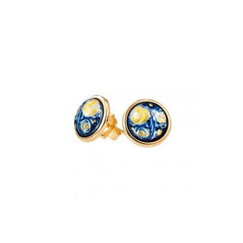 FreyWille Van Gogh cabochon earrings. Available at our Halifax store.