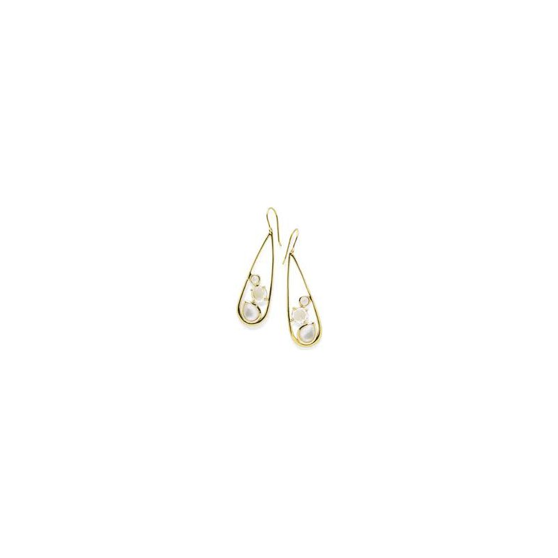 Ippolita Ippolita 18kt Rock Candy multi stone drop earring, Flirt. Available at our Halifax store.