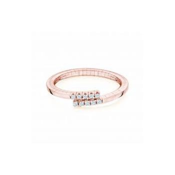 Birks Rosee Du Matin Diamond Wrap Ring In 18Kt Rose Gold, D=0.09Ct Size 7. Available at our Halifax store