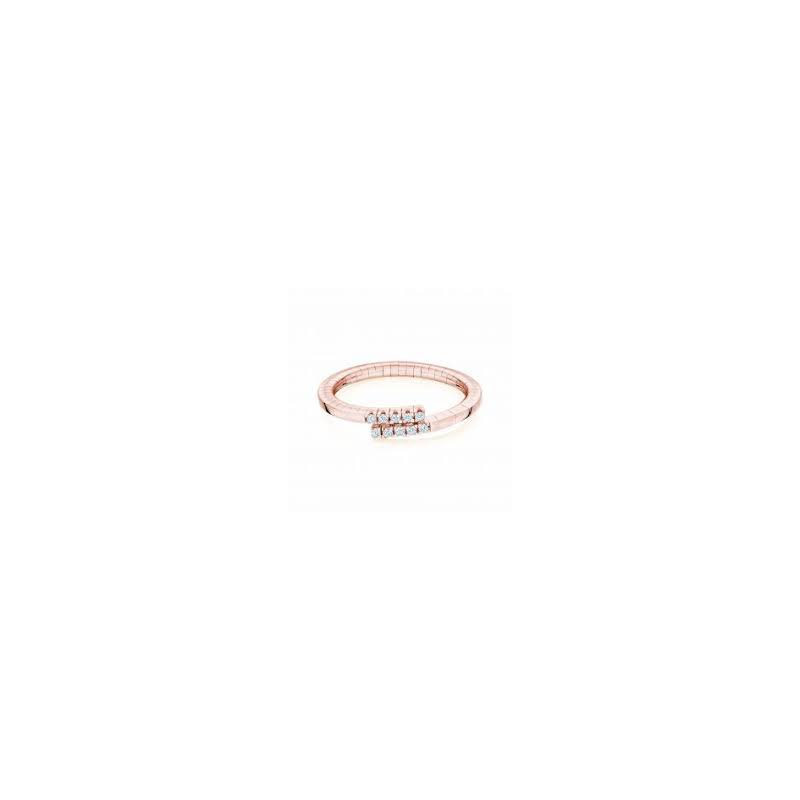 Birks Birks Rosee Du Matin Diamond Wrap Ring In 18Kt Rose Gold, D=0.09Ct Size 7. Available at our Halifax store