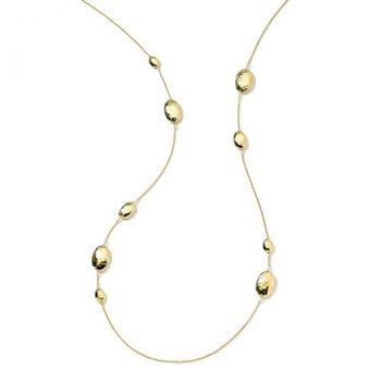 Ippolita 18kt Classico oval station necklace. Available at our Halifax store