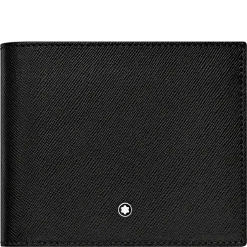 Sartorial Series Black Leather Wallet