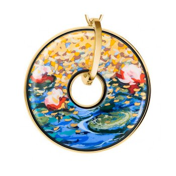 FreyWille Claude Monet orangerie luna piena pendant. Available at our Halifax store.