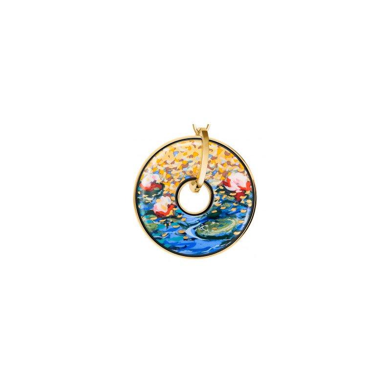 Freywille FreyWille Claude Monet orangerie luna piena pendant. Available at our Halifax store.