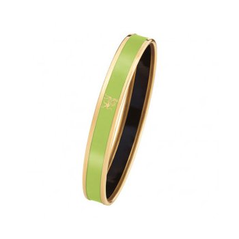 FreyWille mademoiselle monochrome bangle lime, size M. Available at our Halifax store.