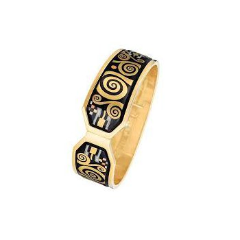 FreyWille Gustav Klimt Adele Bloch-Bauer hinged bangle, size M. Available at our Halifax store.