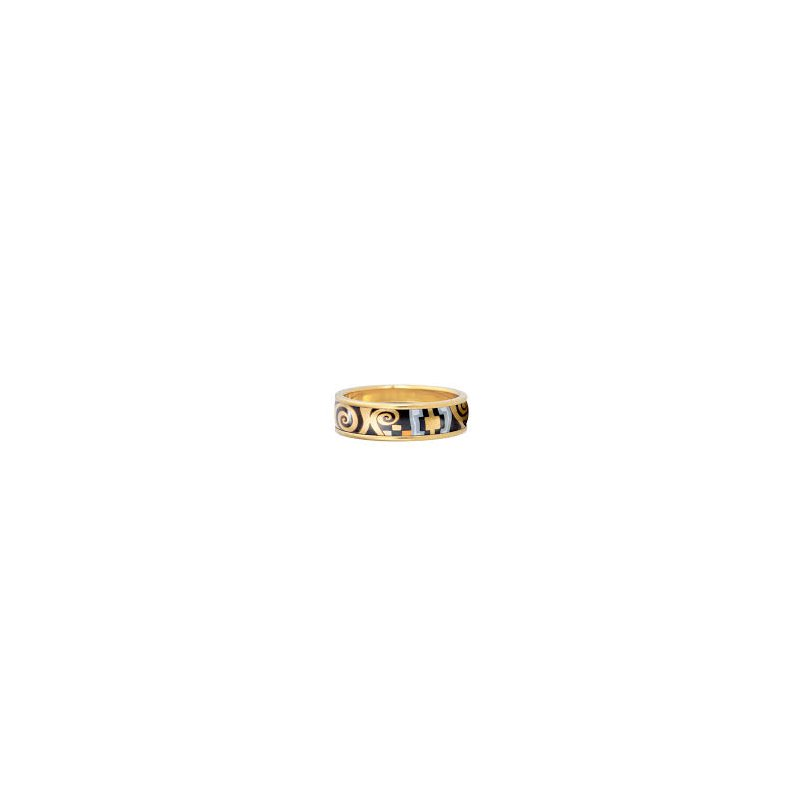 Freywille FreyWille Gustav Klimt Adele Bloch-Bauer ring, size 56. Available at our Halifax store.