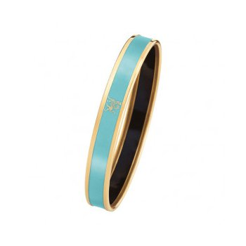 FreyWille mademoiselle monochrome bangle turquoise, size M. Available at our Halifax store.