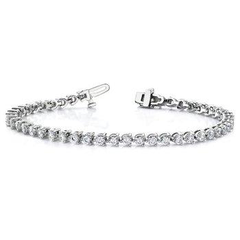 14kw True Origin Lab Grown VS/SI, D E F, Diamond Tennis Bracelet
