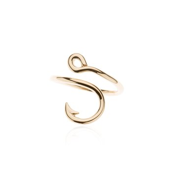 Fish Hook ring