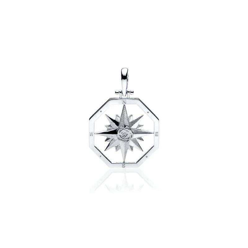 Large Compass Rose pendant