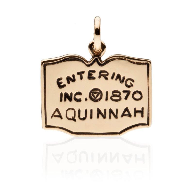 Entering Aquinnah Town Sign charm