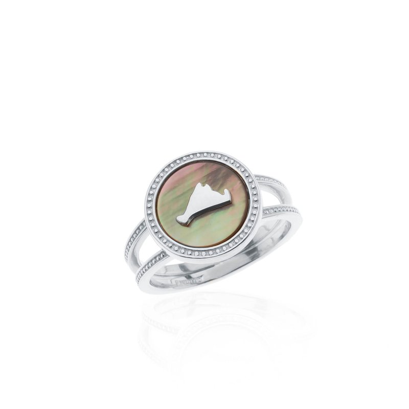 Vineyard Colors ring in sterling silver