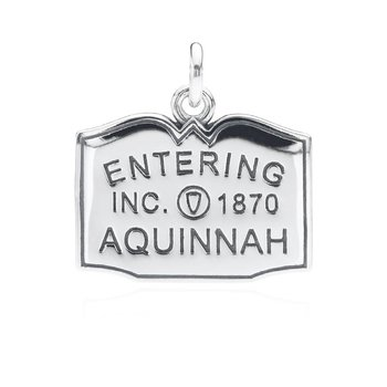 Entering Aquinnah Town Sign charm