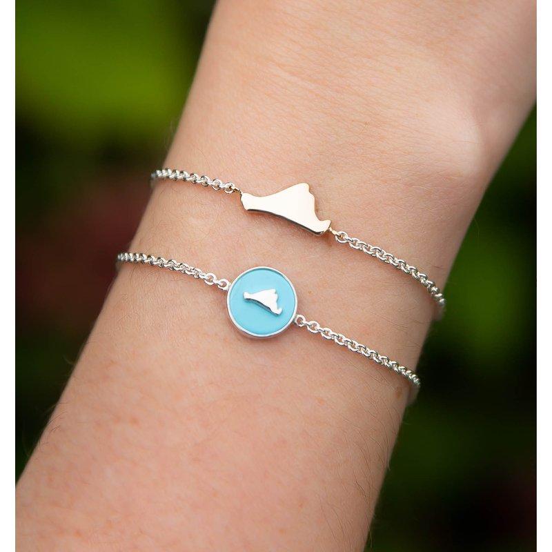 Contemporary Martha's Vineyard Station bracelet