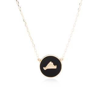 Vineyard Colors Necklace in 14k gold