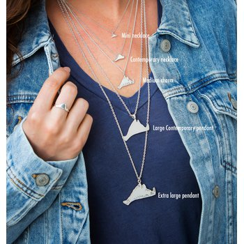 Contemporary Martha's Vineyard Necklace