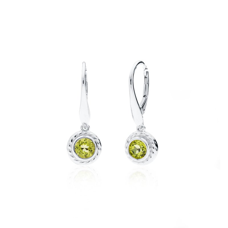 Rigging Collection Peridot Drop earrings