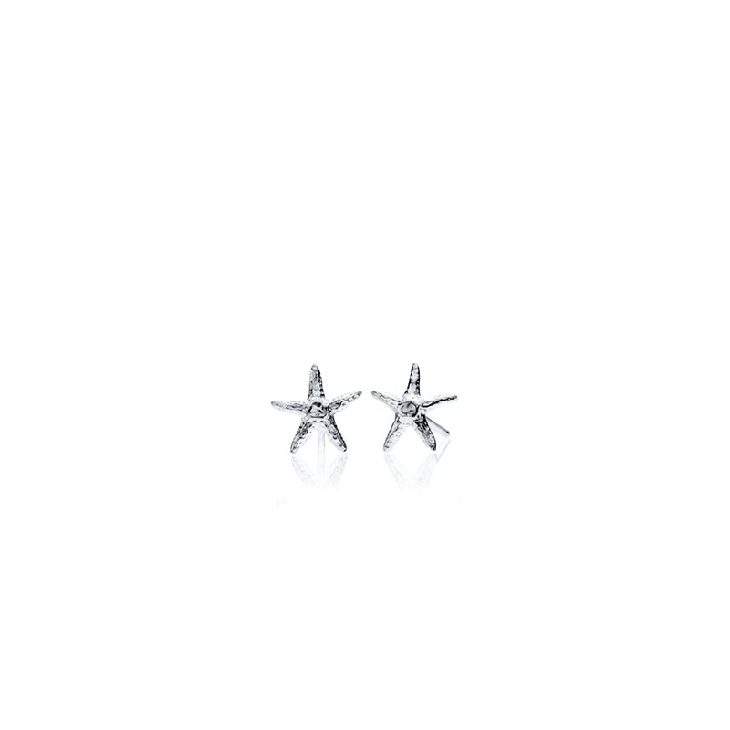 Starfish tiny earrings