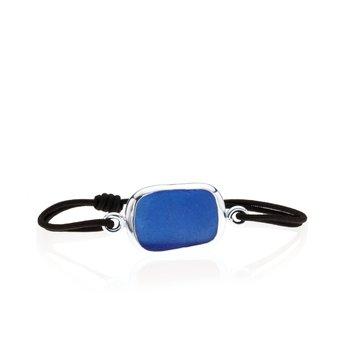 Seaglass Tie bracelet
