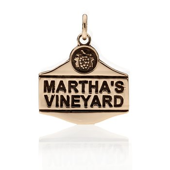 Martha's Vineyard Sign charm