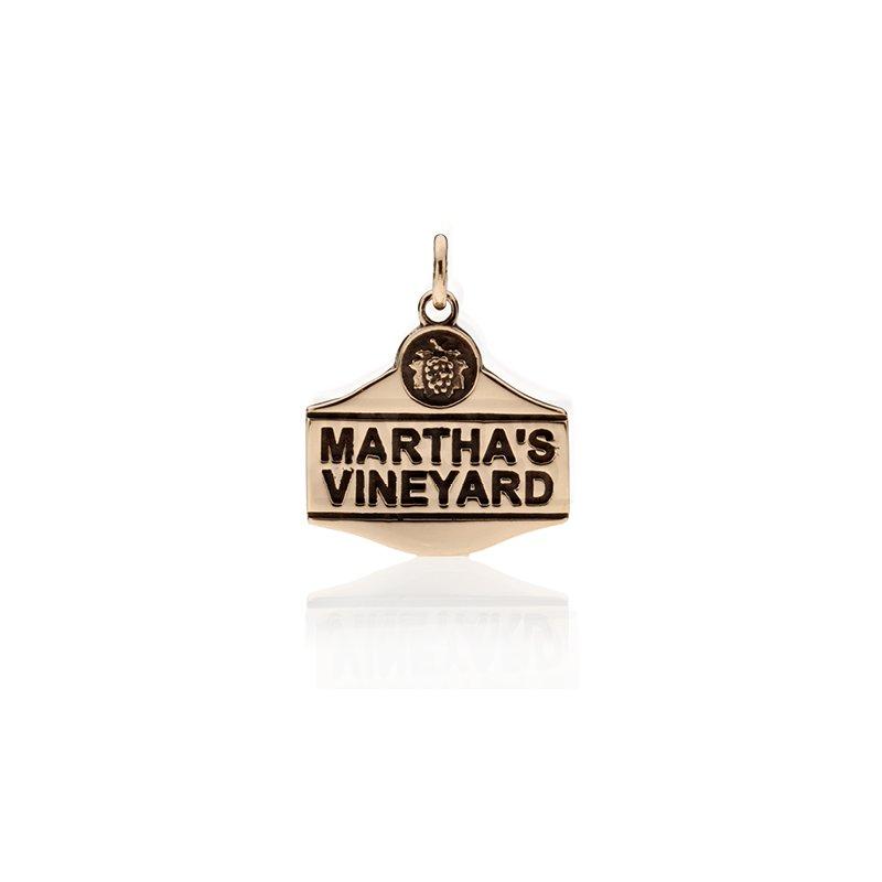 Martha's Vineyard Sign charm