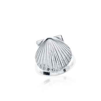 Chilmark Scallop Shell ring