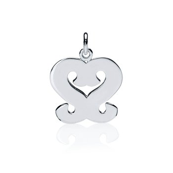 Gingerbread Collection Heart charm