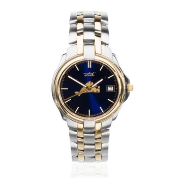 Martha's Vineyard Mens watch with blue dial