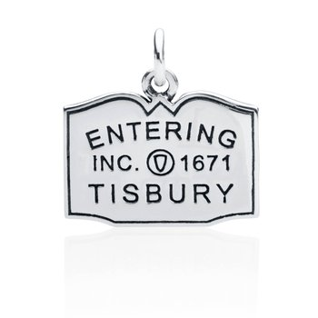 Entering Tisbury Town Sign charm